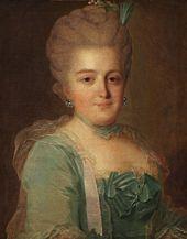 FYODOR ROKOTOV. Portrait of Anna Tulinova. Late 1770s