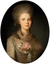 Fyodor Rokotov. Portrait of Varvara Surovtseva. Second half of the 1780s