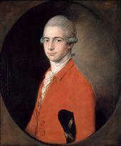 Thomas Gainsborough. Portrait of Thomas Linley the Younger. c. 1772
