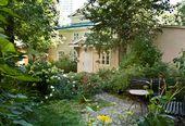 Mikhail Lermontov House-Museum. Courtyard