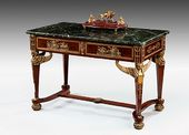A French gilt bronze centre table. с. 1880. © LAPADA
