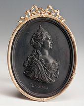 Portrait of Catherine II. c. 1780