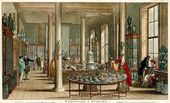 The Wedgwood & Byerley showroom at York Street, London, as illustrated in 1809