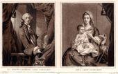 Samuel William Reynolds after Sir Joshua Reynolds. Charles Cathcart, 9th Baron Cathcart; Jean Cathcart (née Hamilton), Lady Cathcart. Mezzotint, published 1837. © National Portrait Gallery, London