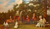 George Stubbs. The Wedgwood Family. 1780