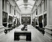 Main exhibition hall, Lady Lever Art Gallery, Port Sunlight. Photograph. 1922. © National Museums Liverpool