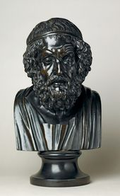 Basalt bust of Homer. 1780-1800. © National Museums Liverpool/Lady Lever Art Gallery