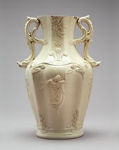 Vase with Heraldic Badge of the Prince of Wales