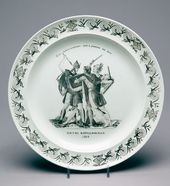 "Plate ""Battle of Borodino. 1812""»"