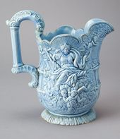 "Pitcher with ""Wisdom and Providence"" Pattern"
