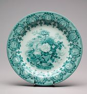 "Plate with "" Zodiac"" Pattern"