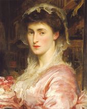 Frederic LEIGHTON. Mrs Evans Gordon. с. 1870. © Christie's Images Limited 2016