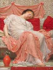 Albert Joseph MOORE. Jasmine. 1880. © Christie's Images Limited 2016