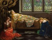 The Hon. John Collier. The Sleeping Beauty. 1921. © Christie's Images Limited 2016