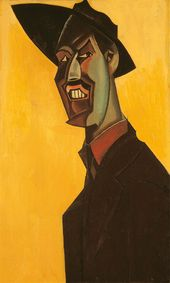 Mr. Wyndham Lewis as a Tyro. 1920–1921. Copyright: The Estate of Mrs G A Wyndham Lewis. The Wyndham Lewis Memorial Trust