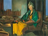 Edith Sitwell. 1923–1935. Copyright: The Estate of Mrs G A Wyndham Lewis. The Wyndham Lewis Memorial Trust