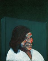 Francis BACON. Head of a Woman. 1960. © The Estate of Francis Bacon