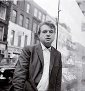 John DEAKIN. Francis Bacon, on the street outside the Colony Room