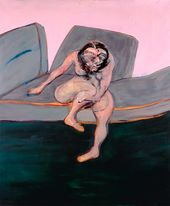 Francis BACON. Seated Woman. 1961. © The Estate of Francis Bacon