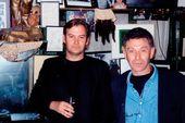 James Birch with Zinovy Zinik at the Colony Room