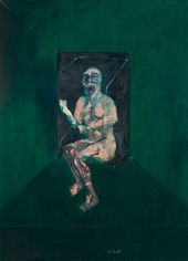 "Francis BACON. Study for the Nurse in the film ""The Battleship Potemkin"". 1957. © The Estate of Francis Bacon"