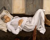 The Painter's Mother Resting. 1982–1984
