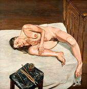 Naked Portrait. 1972–1973. © Lucian Freud