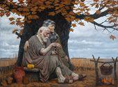Autumn of the Ancestors (Adam and Eve). 1997–2000