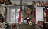 The artist's studio. Photograph