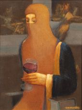 A Glass of Wine. 2008