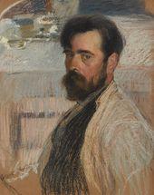 ALEXEI KORIN. Self-portrait. 1915