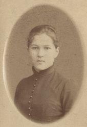 Serafima Ammosova. Photograph, 1890