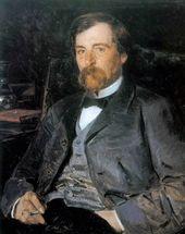 VLADIMIR MAKOVSKY. Portrait of Illarion Pryanishnikov. 1893