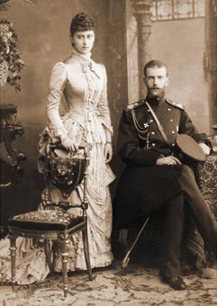 Grand Duchess Yelizaveta Fyodorovna and Grand Duke Sergei Alexandrovich