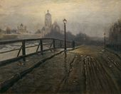 March. Novospassky Bridge