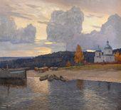 Evening on the Volga. 1912
