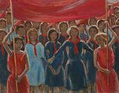 NIKOLAI CHERNYSHEV. Young Pioneers' Parade. 1924