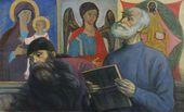 Н.М. ЧЕРНЫШЁВ. Андрей Рублев и Даниил Черный. 1960