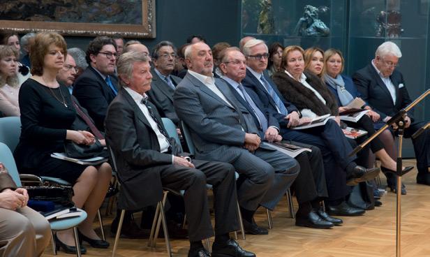 From left: Alexander Rozhin, Vitaly Machitski, Alexander Bessmertnykh, Alexander Shokhin