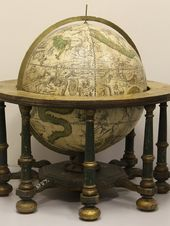 Celestial floor globe. Late 18th century
