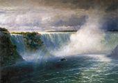 IVAN AIVAZOVSKY. Niagara Falls. 1893