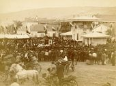 Grand opening of the Feodosia-Subash water supply system and fountain named after Ivan Aivazovsky. September 18 1888