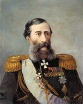 IVAN AIVAZOVSKY. Portrait of General Mikhail Loris-Melikov. 1888