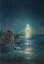 IVAN AIVAZOVSKY. Walking on the Water. 1897