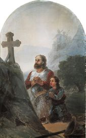 IVAN AIVAZOVSKY. Warrior Saint. 1890s