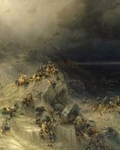 IVAN AIVAZOVSKY. The Great Flood. 1864
