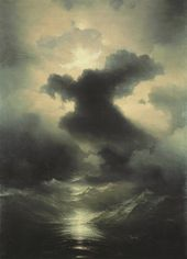 IVAN AIVAZOVSKY. Chaos. Creation of the World. 1841