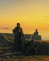 IVAN AIVAZOVSKY. Mekhitarist Fathers on the Island of San Lazzaro. Venice. 1843