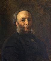 Konstantin MAKOVSKY. Portrait of Ivan Aivazovsky. 1887