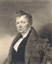 FRANZ KRÜGER. Portrait of Alexei Tomilov. c. 1836